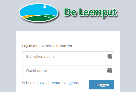 Webapplicatie de Leemput